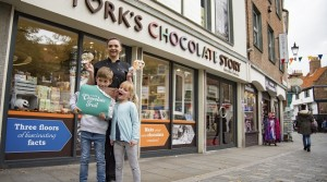 Sweet temptation as 'chocolate city' launches cocoa-laced trail in National Chocolate Week