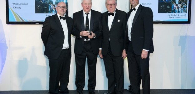 West Somerset Railway awarded BRONZE At the Bristol Bath & Somerset Awards