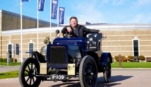 Charley Boorman to drive a 1904 car from the British Motor Museum in this year's London to Brighton Veteran Car Run