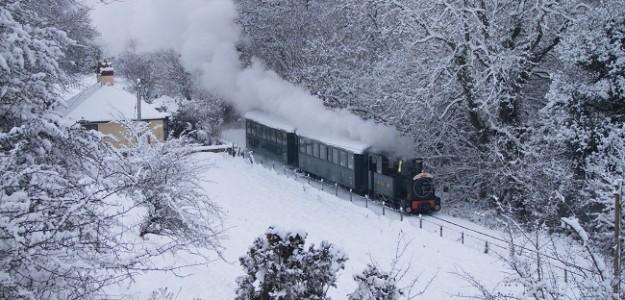 "Winter Warmer Special"" Selected dates in February on Welshpool & Llanfair Railway"
