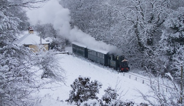 "Winter Warmer Special"" Selected dates in February on Welshpool & Llanfair Railway"