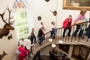 Leighton Hall Staircase