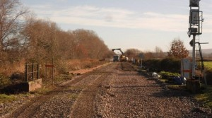 West Somerset Railway carry out the first stage of the 2018 Infrastructure plan
