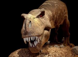 Longleat T. rex full body view