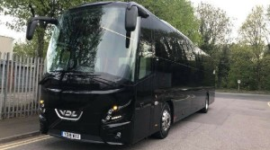 Bouden Coach Travel Unveil Their Brand New VDL Futura