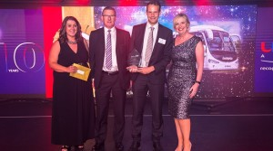 Coach firm cleans up at national awards
