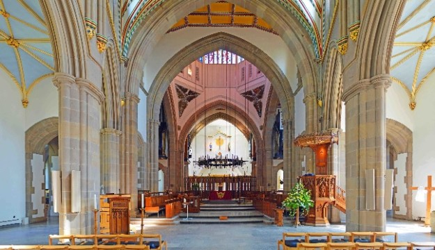 Be sure to visit Blackburn Cathedral!