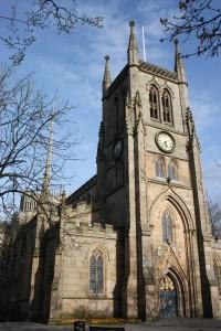 Blackburn Cathedral Outside