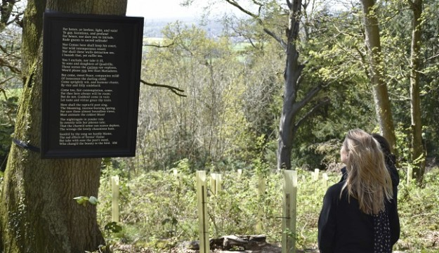 Award-winning Bristol poet, Holly Corfield Carr, announced as poet-in-residence at Tyntesfield, near Bristol