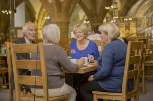 Durham Cathedral Undercroft Restaurant © Picture: David Wood