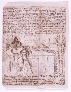 Emily's Diary Paper ©The Brontë Society
