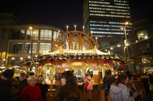 Manchester European Christmas Markets Exchange square area