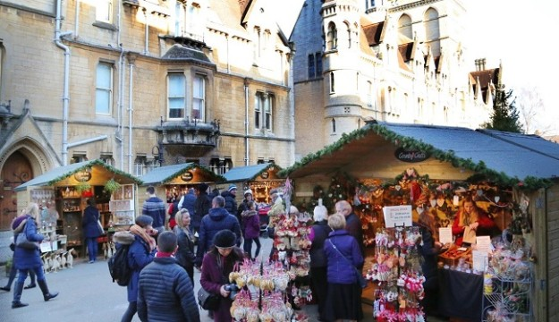 Oxford Christmas Market extended to 16 days for 2018