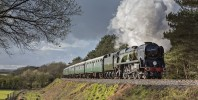Express Steam Locomotive named after a Battle of Britain Commander will work trains on The West Somerset Railway