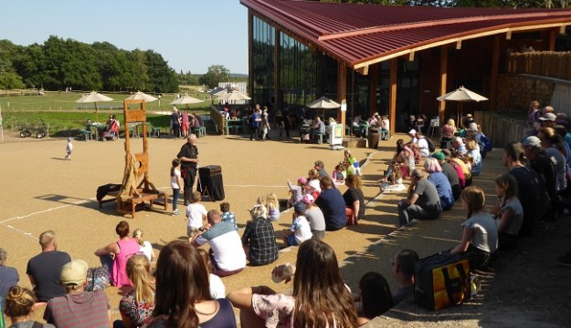 The New Sherwood Forest Visitor Centre is now open..