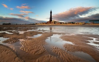 Blackpool Tower Reflected