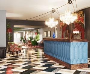 Hotel Indigo Stratford reception
