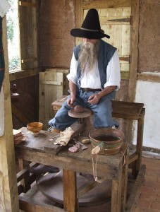 Discover Gosport 17th Century Village - Potter 1
