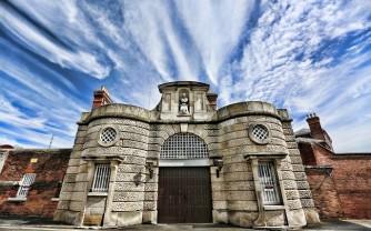Shrewsbury Prison Front Gates