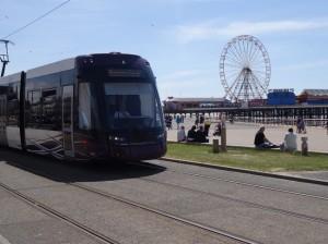 Blackpool Transport Tram & Big WHeel
