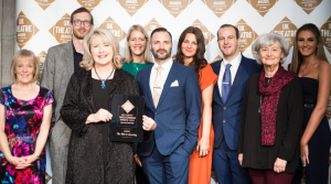 The Mill at Sonning crowned the UK's 'Most Welcoming Theatre' at UK Theatre Awards for third year running