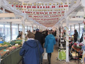 Tiverton Pannier Market Christmas 2017
