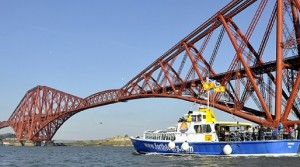 Forth Boat Tours, enjoy unrivalled views of the The Bridges