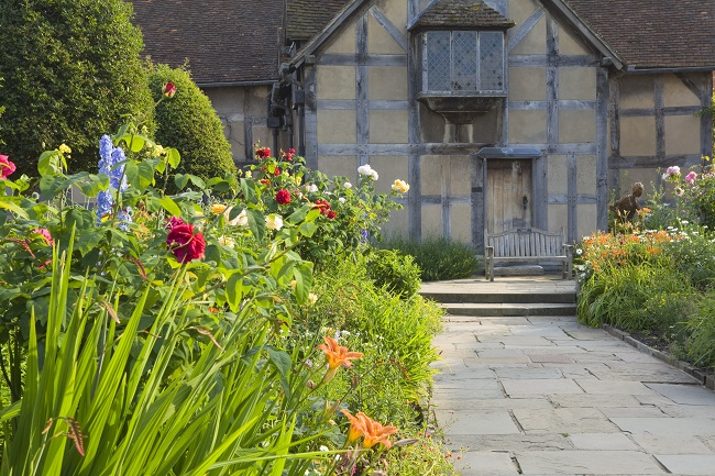 Shakespeare's Birthplace, Stratford-upon-Avon, UK. June 2014.