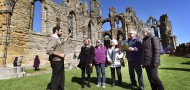 Whitby Abbey tops the English Heritage transformation must-sees this season