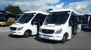Reays Coaches adds four new Mellor Stratas to fleet