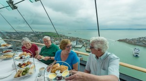 Enjoy the delights of High Tea with Spinnaker Tower