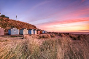 Beach Huts Lowestoft