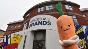 Kevin the Carrot – Visiting Exhibit in December at Museum of Brands