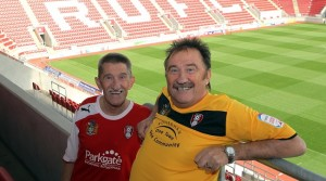 Gulliver's Valley honours Rotherham legends, the Chuckle Brothers!
