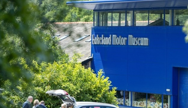 Lakeland Motor Museum is open-  Pre-booking essential & Staggered entry begins