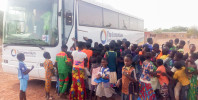 """Second Acklams Coach on its way to West Africa to """"Light Gloomy Lives"""""""