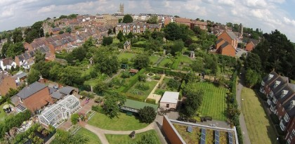 Head to Hill Close Gardens…