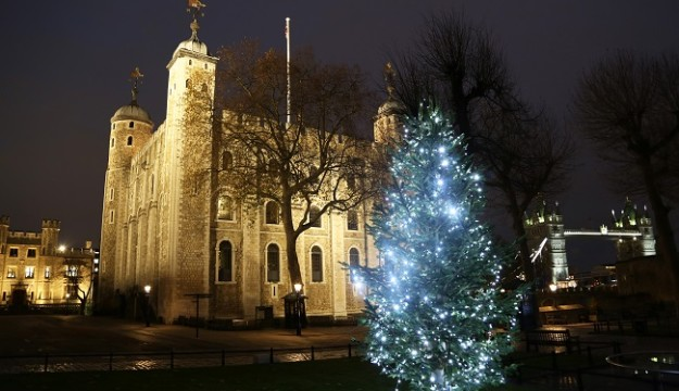Get into the festive spirit in some of the world's most iconic palaces